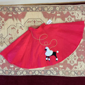 Costumes - kids Halloween costume 50s style poodle skirt